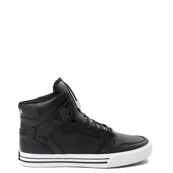 Mens Supra Vaider Hi Skate Shoe - Black / White