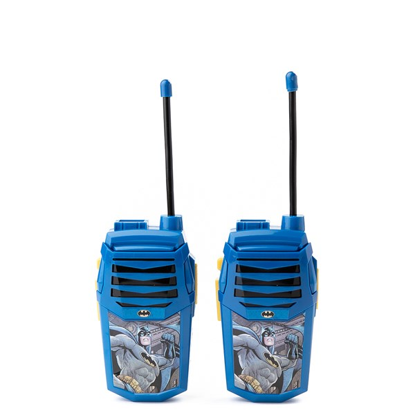 Batman Walkie Talkie with Built-In Flashlight