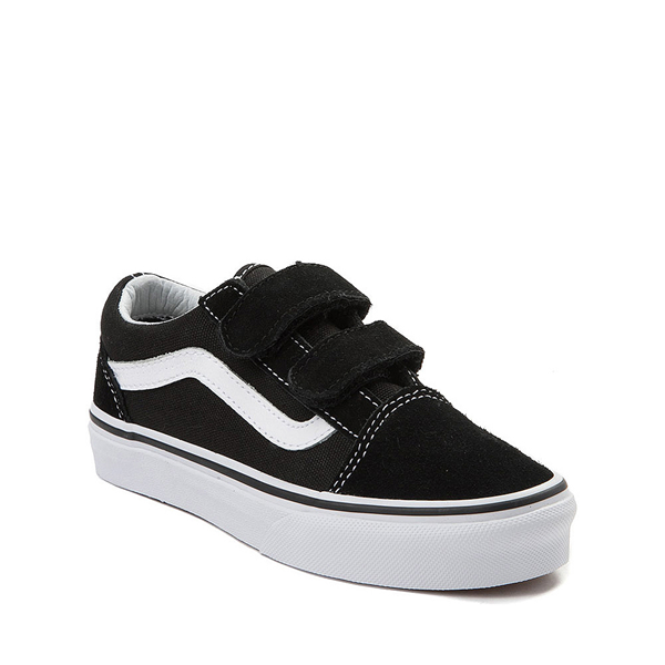 alternate view Vans Old Skool V Skate Shoe - Little Kid - BlackALT5