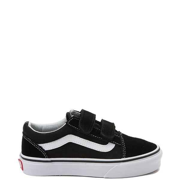 Default view of Vans Old Skool V Skate Shoe - Little Kid - Black / White