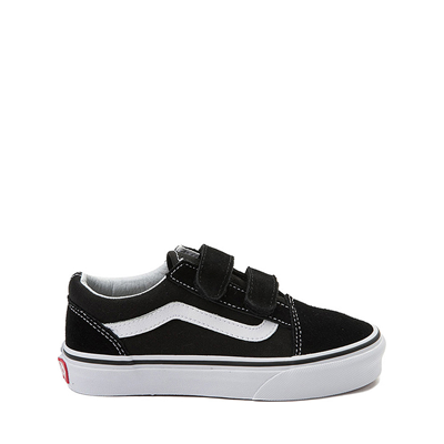 Main view of Vans Old Skool V Skate Shoe - Little Kid - Black