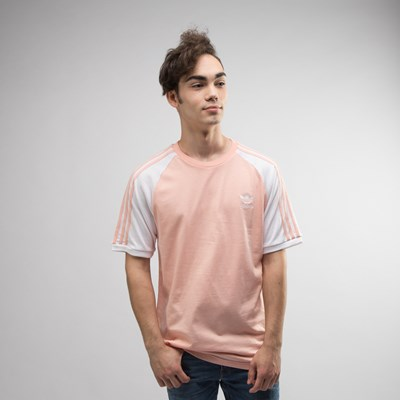 Main view of Mens adidas 3-Stripes Tee