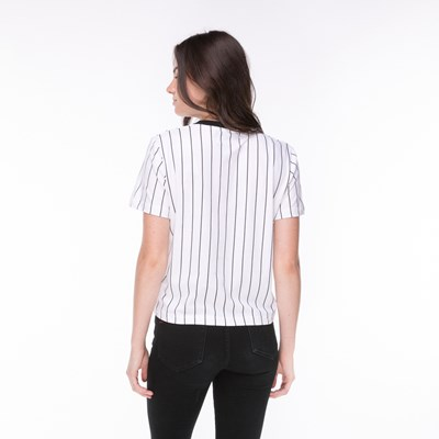 Alternate view of Womens Fila Lonnie Pinstripe Tee