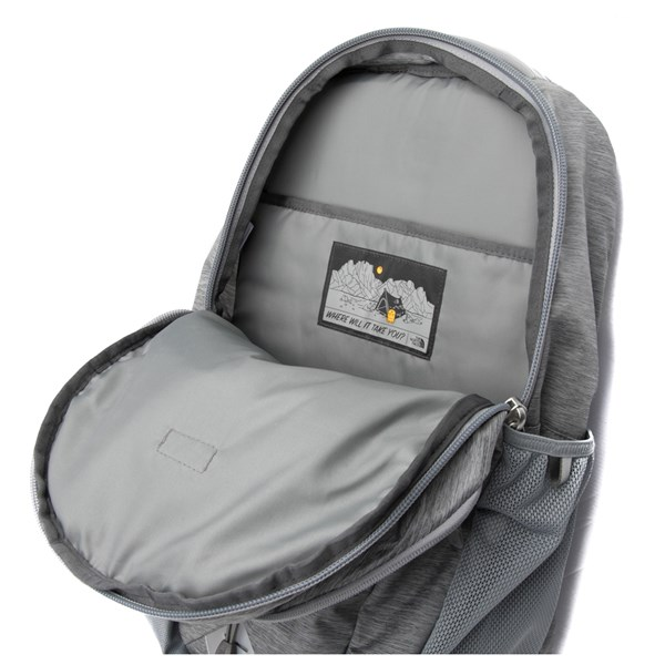 alternate view The North Face Jester Backpack - Heather GrayALT3