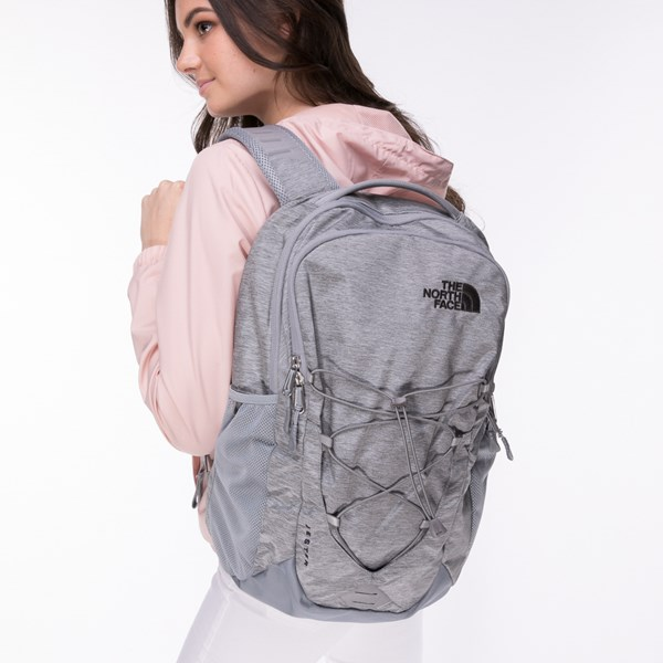 alternate view The North Face Jester Backpack - Heather GrayALT4
