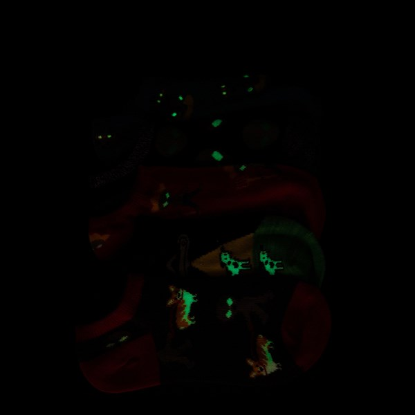 Alternate view of Alien Glow Socks 5 Pack - Little Kid