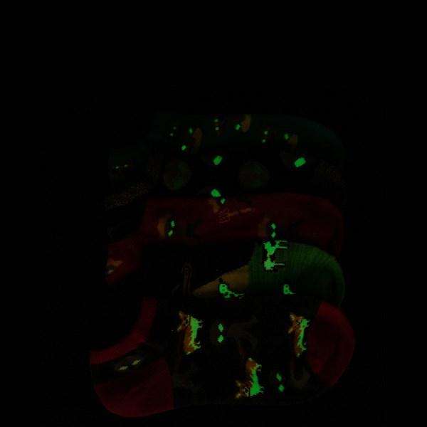Alternate view of Alien Glow Socks 5 Pack - Big Kid