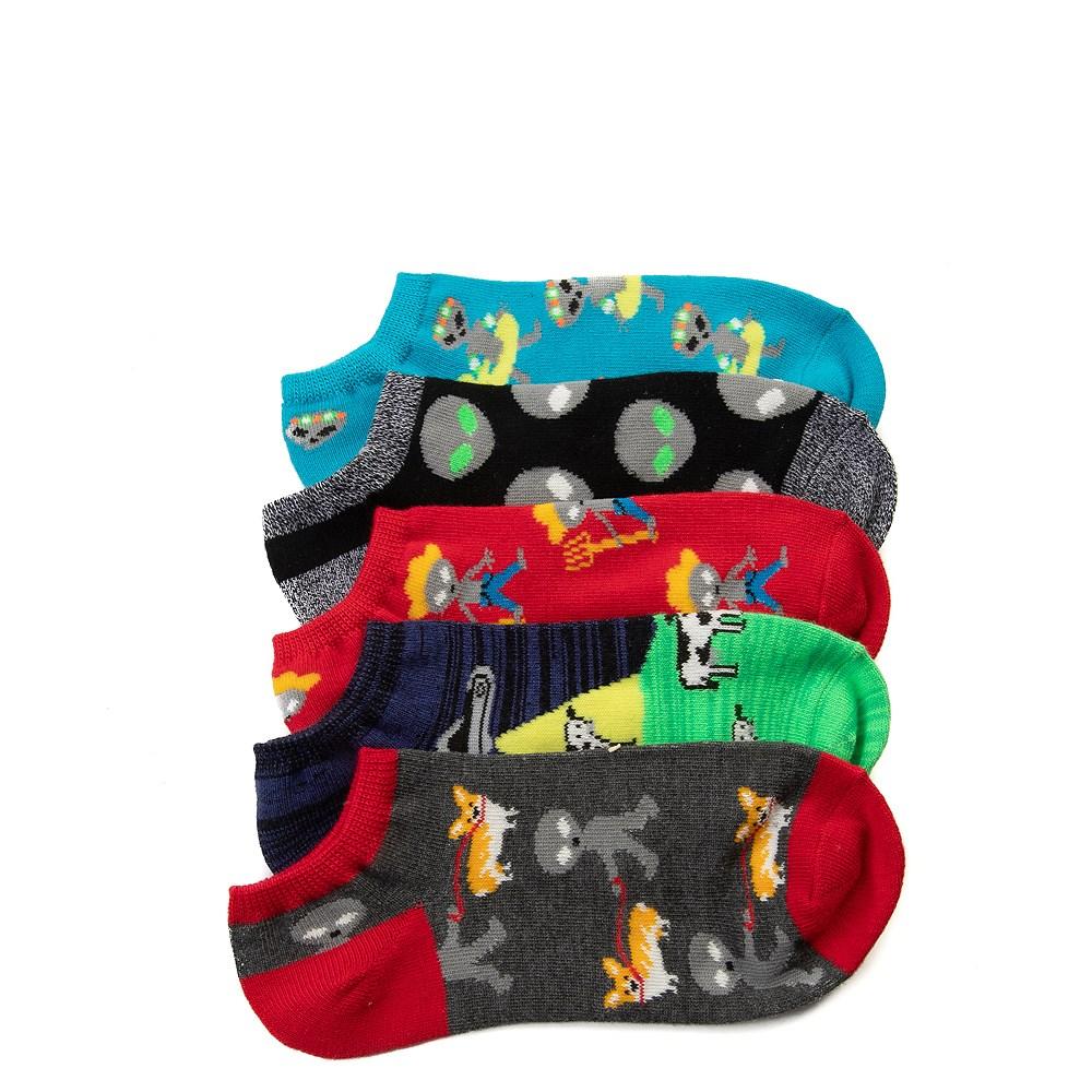 Tween Alien Glow Socks 5 Pack