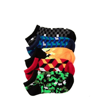 Main view of Youth Digi Glow Socks 5 Pack
