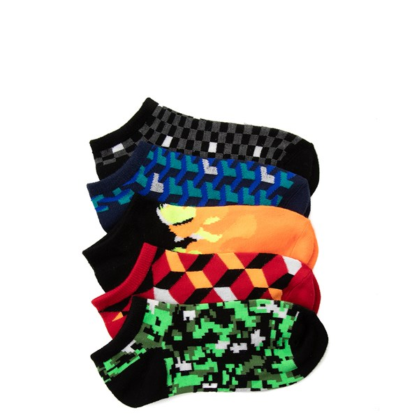 Digi Glow Socks 5 Pack - Big Kid