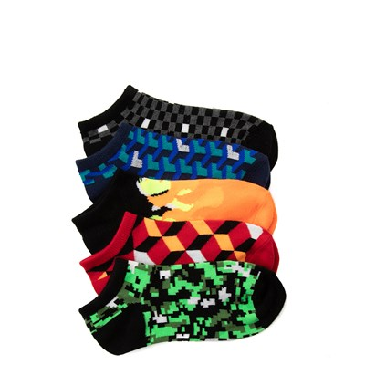 Main view of Digi Glow Socks 5 Pack - Big Kid