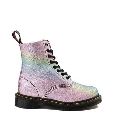 Womens Dr. Martens Pascal 8-Eye Glitter Boot