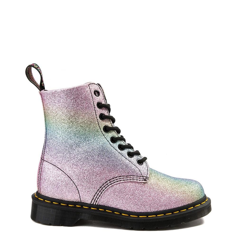 Womens Dr. Martens Pascal 8-Eye Glitter Boot