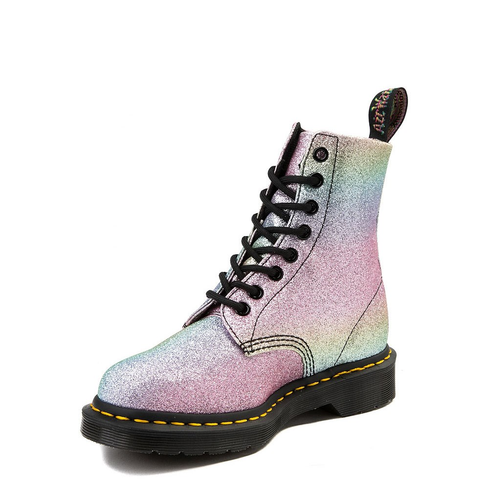 e0ced39fa alternate view Womens Dr. Martens Pascal 8-Eye Glitter BootALT3