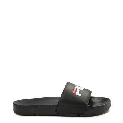 Main view of Womens Fila Drifter Slide Sandal - Black