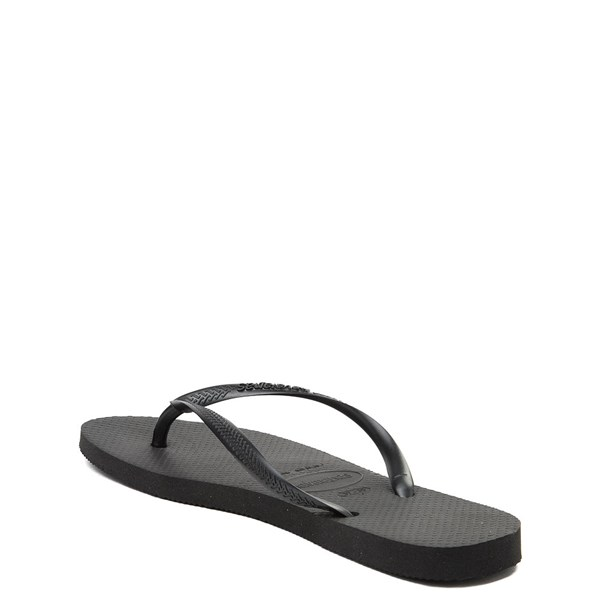 alternate view Womens Havaianas Slim Sandal - BlackALT2