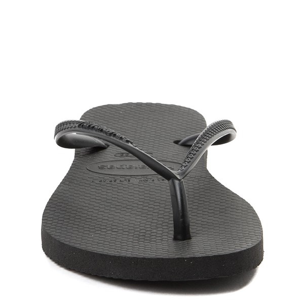 alternate view Womens Havaianas Slim Sandal - BlackALT4