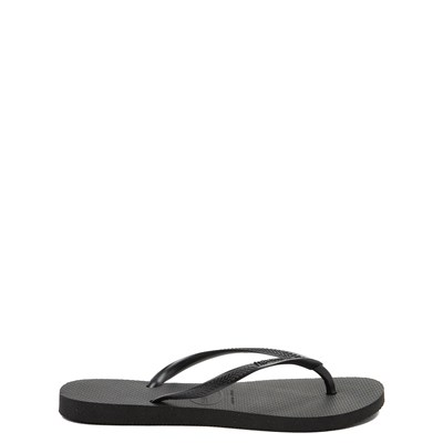 Alternate view of Womens Havaianas Slim Sandal - Black