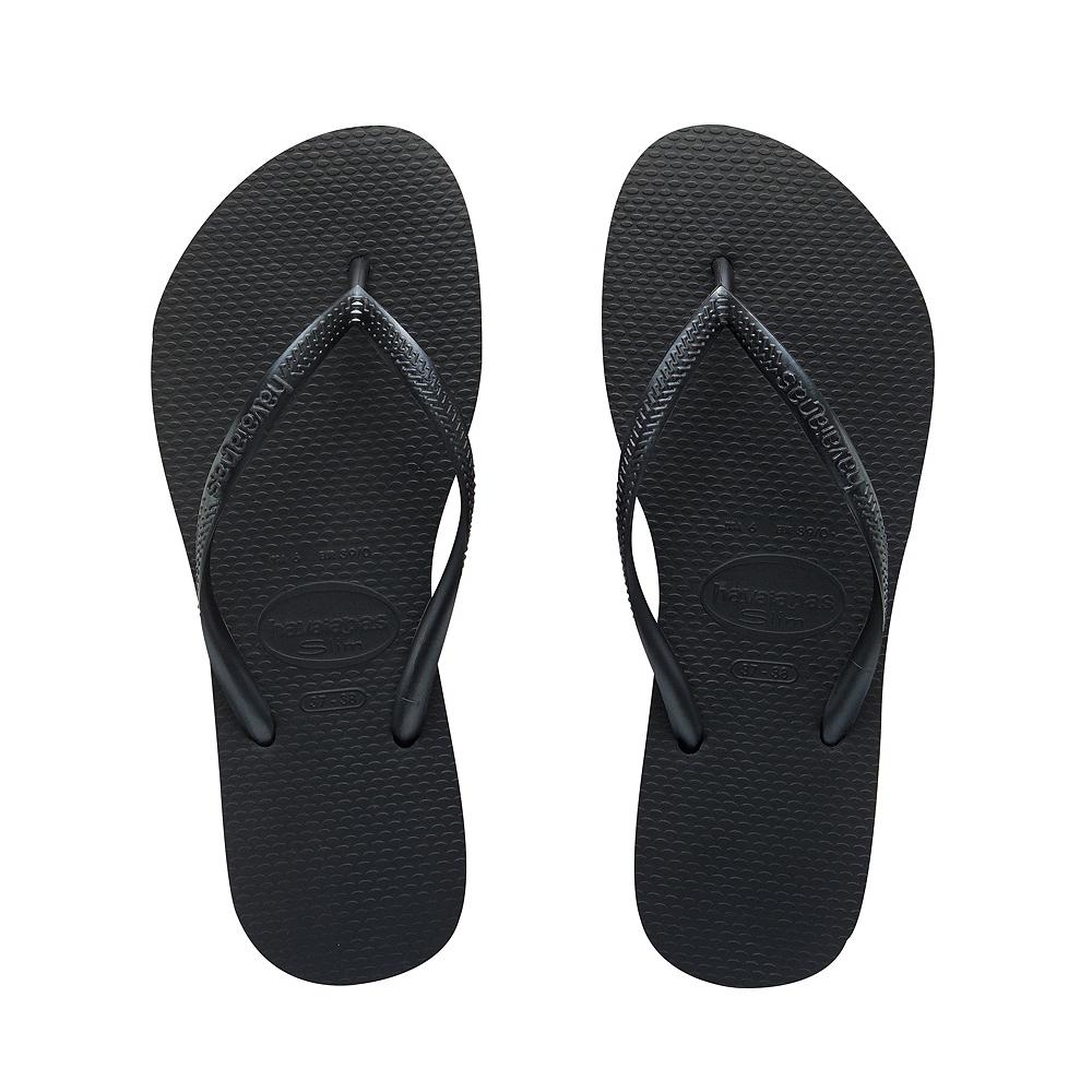 Womens Havaianas Slim Sandal - Black