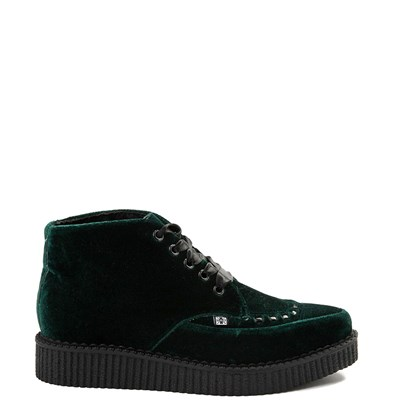 T.U.K. Velvet Pointed Toe Creeper Boot