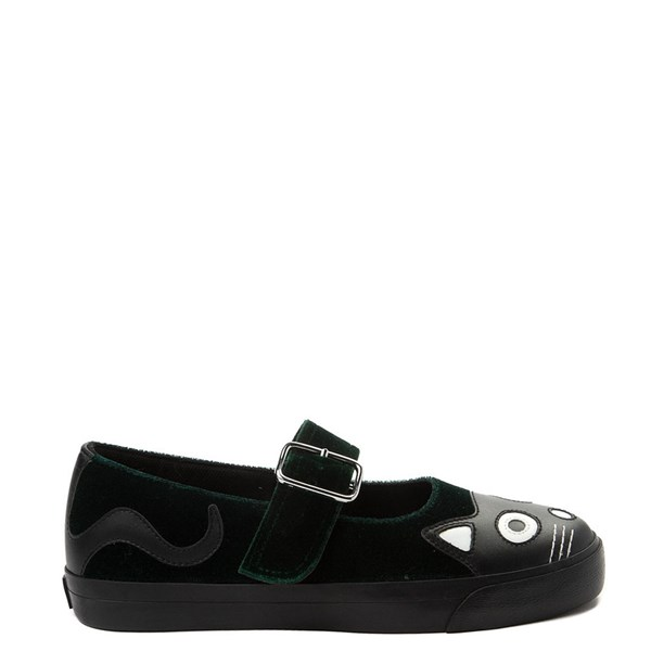 Default view of Womens T.U.K. Kitty Mary Jane Velvet Casual Shoe