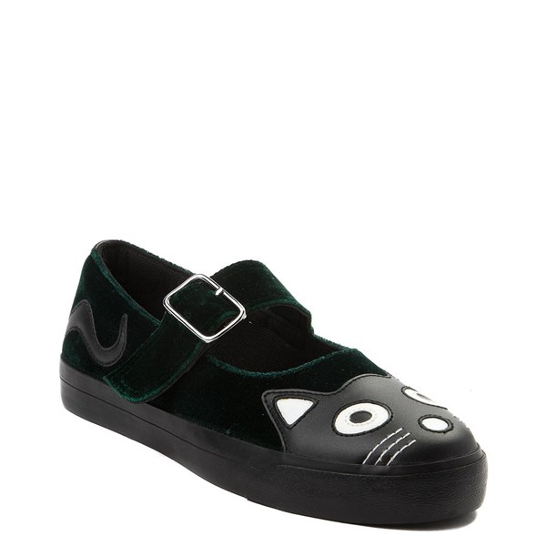 Alternate view of Womens T.U.K. Kitty Mary Jane Velvet Casual Shoe