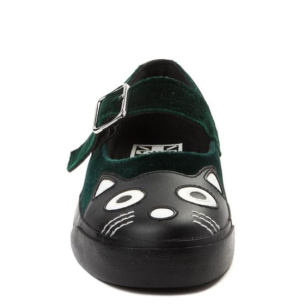 alternate view Womens T.U.K. Kitty Mary Jane Velvet Casual ShoeALT4