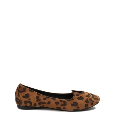 Main view of Womens T.U.K. Sophistakitty Flat - Leopard