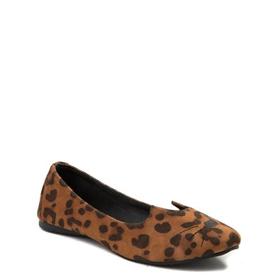 Alternate view of Womens T.U.K. Sophistakitty Flat - Leopard