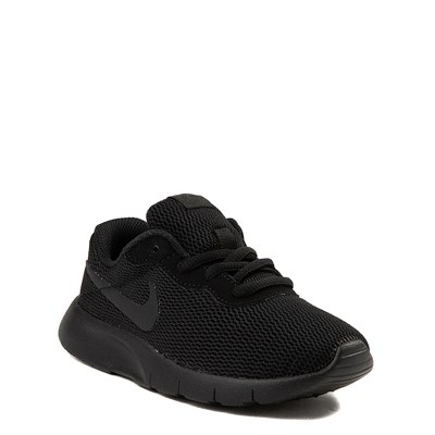 Alternate view of Nike Tanjun Athletic Shoe - Little Kid - Black Monochrome