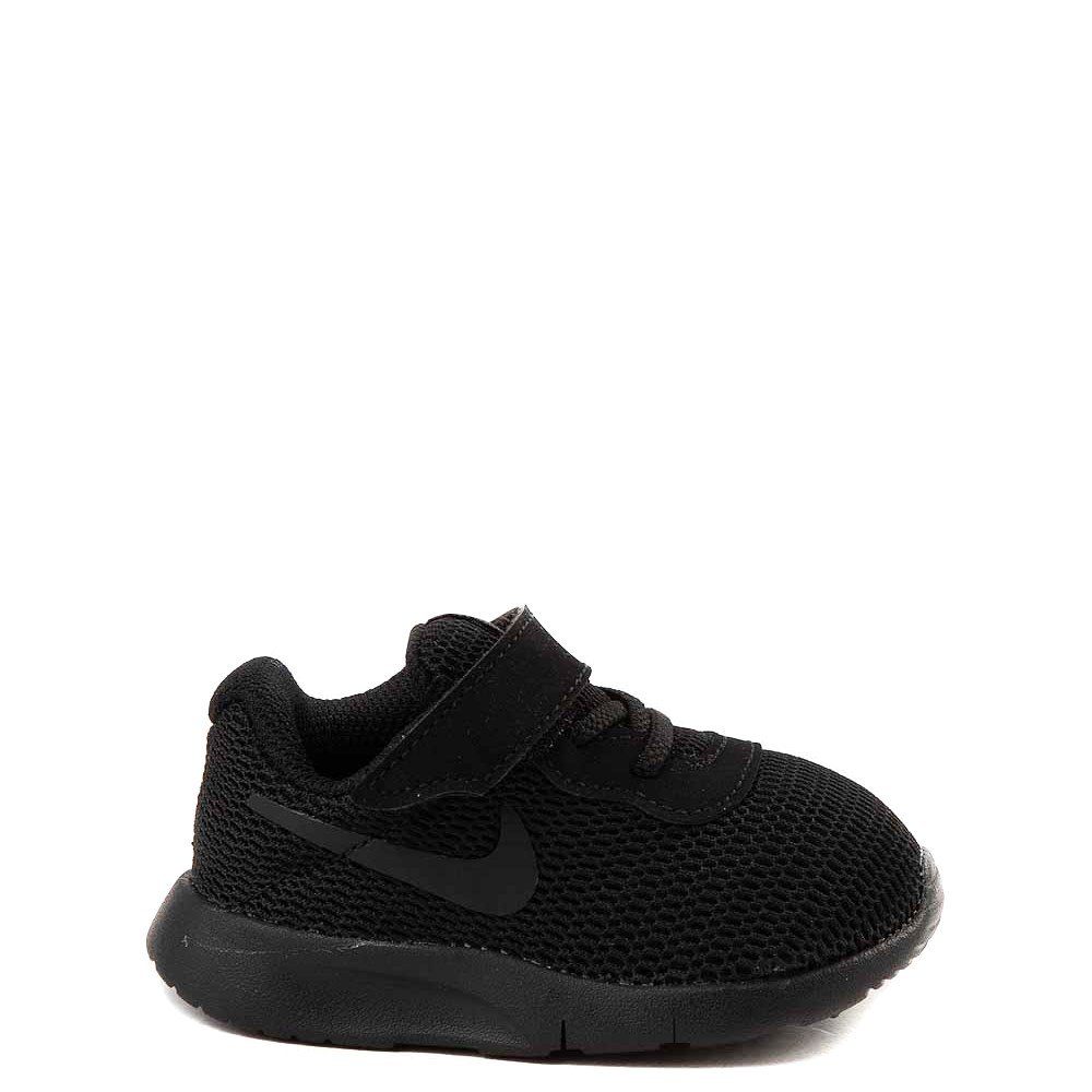 Nike Tanjun Athletic Shoe - Baby / Toddler - Black Monochrome