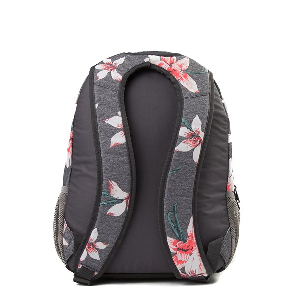 alternate view Womens Roxy Shadow Swell Backpack - Heather Gray / FloralALT2