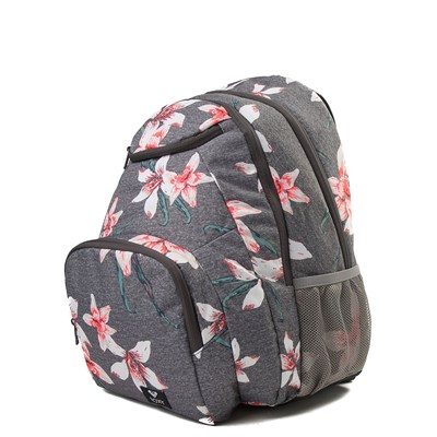 Alternate view of Womens Roxy Shadow Swell Backpack - Heather Gray / Floral