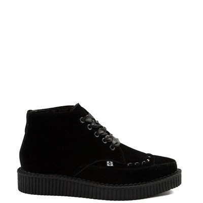 Main view of T.U.K. Velvet Pointed Toe Creeper Boot