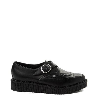 T.U.K. Pointed Toe Buckle Low Sole Creeper Casual Shoe