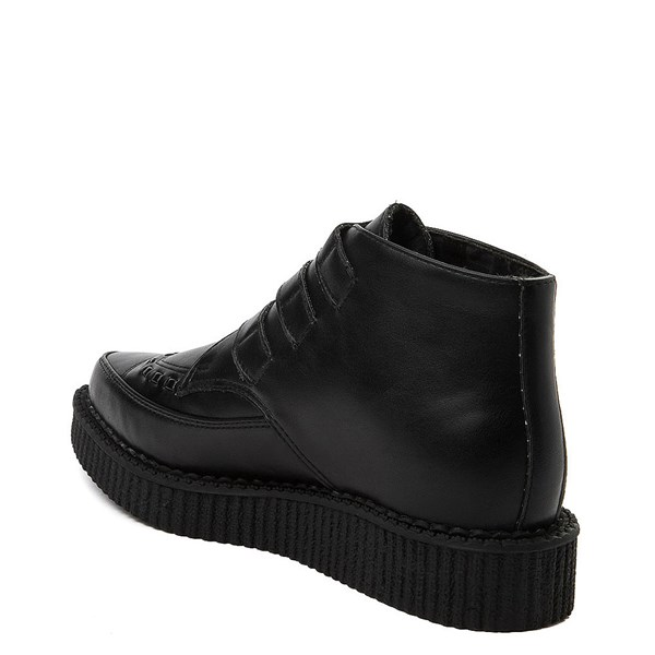 alternate view T.U.K. Pointed Toe 3-Buckle Low Sole Creeper BootALT2