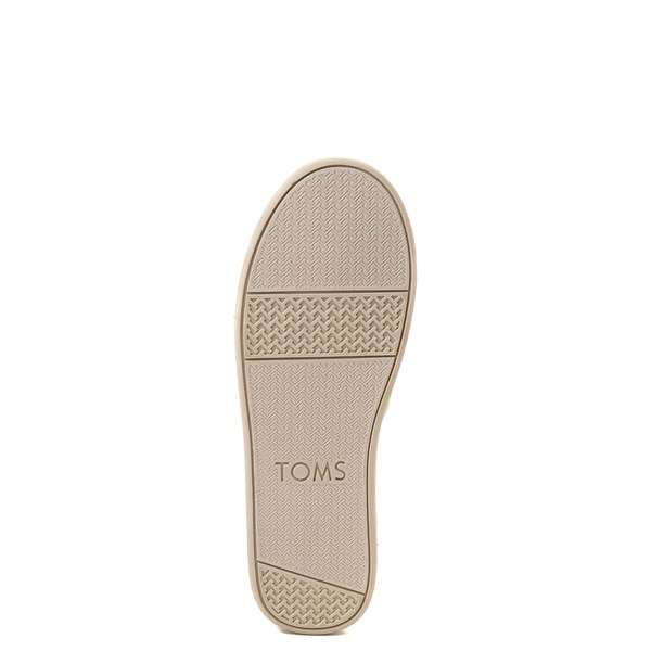 alternate view TOMS Classic Glimmer Slip On Casual Shoe - Little Kid / Big KidALT5