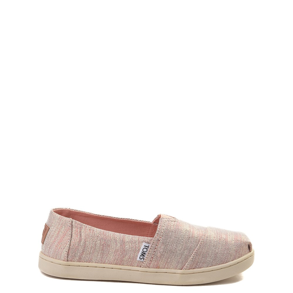 TOMS Classic Glimmer Slip On Casual Shoe - Little Kid / Big Kid