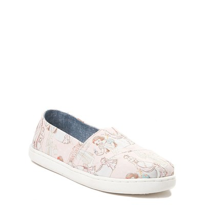 Alternate view of TOMS Disney Princess Classic Slip On Casual Shoe - Little Kid / Big Kid