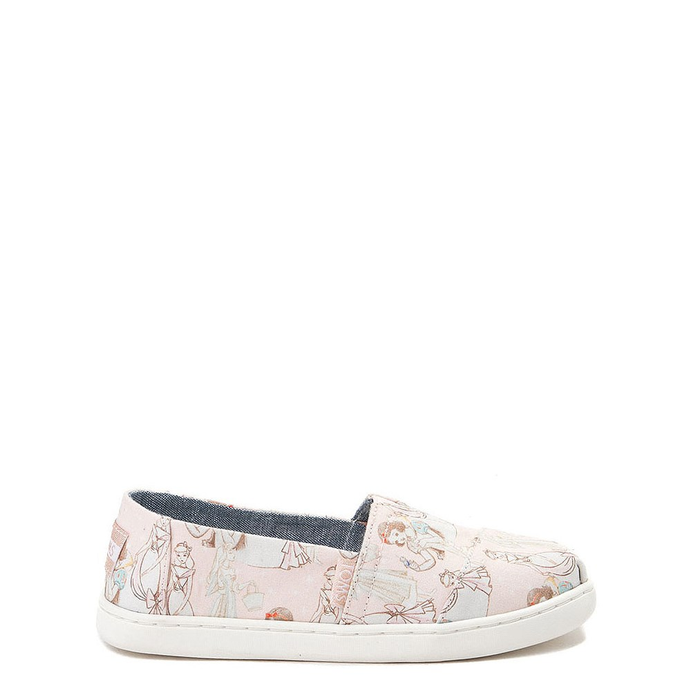 TOMS Disney Princess Classic Slip On Casual Shoe - Little Kid / Big Kid