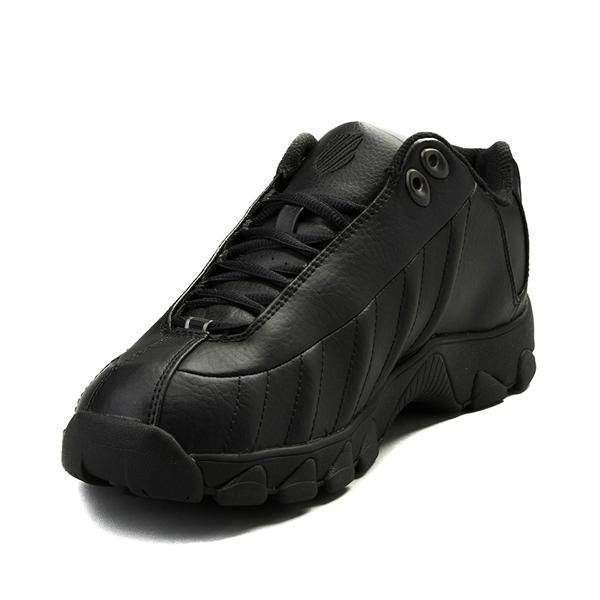alternate view Mens K-Swiss ST-329 Low Athletic Shoe - BlackALT2