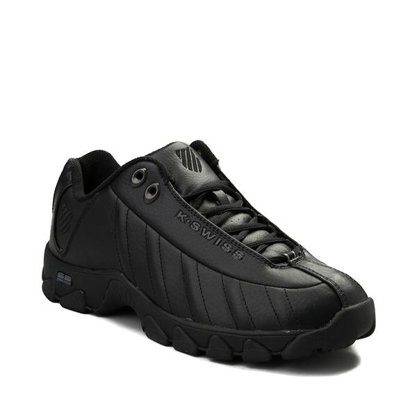 alternate view Mens K-Swiss ST-329 Low Athletic Shoe - BlackALT5