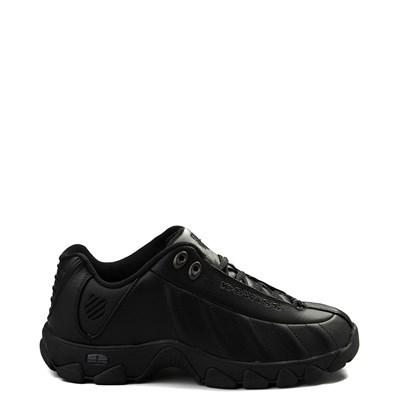 Main view of Mens K-Swiss ST-329 Low Athletic Shoe - Black