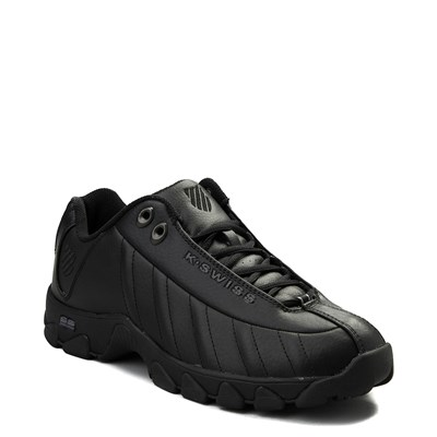 Alternate view of Mens K-Swiss ST-329 Low Athletic Shoe - Black