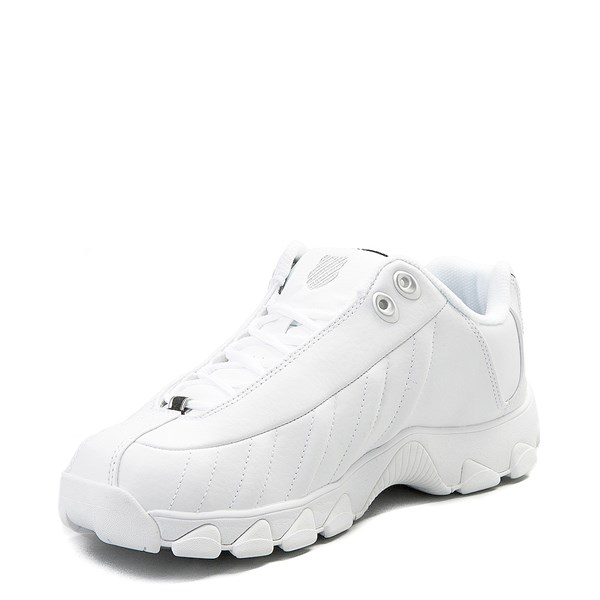 alternate view Mens K-Swiss ST-329  Low Athletic Shoe - WhiteALT3