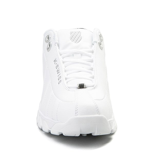 alternate view Mens K-Swiss ST-329  Low Athletic Shoe - WhiteALT4
