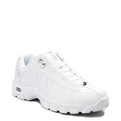 Alternate view of Mens K-Swiss ST-329  Low Athletic Shoe - White