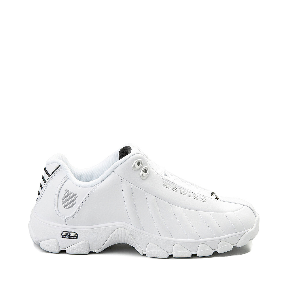 Mens K-Swiss ST-329  Low Athletic Shoe - White