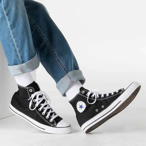 alternate view Converse Chuck Taylor All Star Hi Sneaker - BlackB-LIFESTYLE1