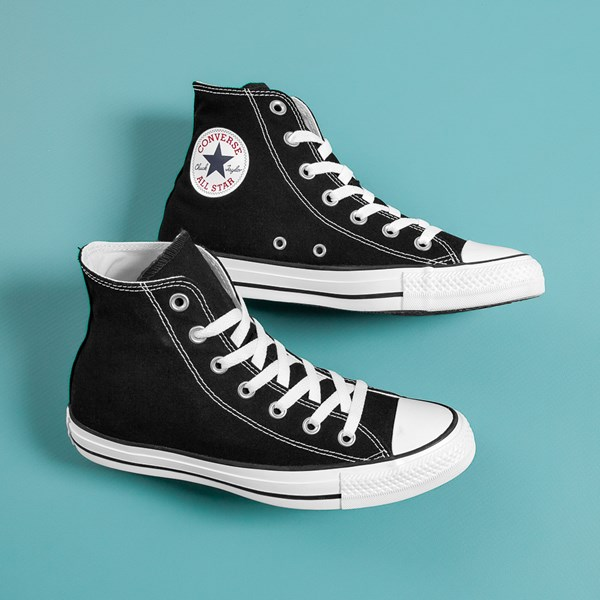 alternate view Converse Chuck Taylor All Star Hi Sneaker - BlackC-HERO1